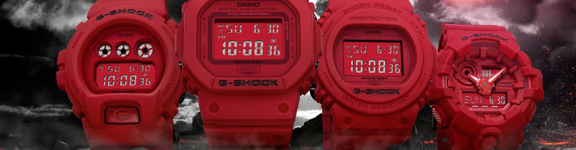 G-Shock RED OUT