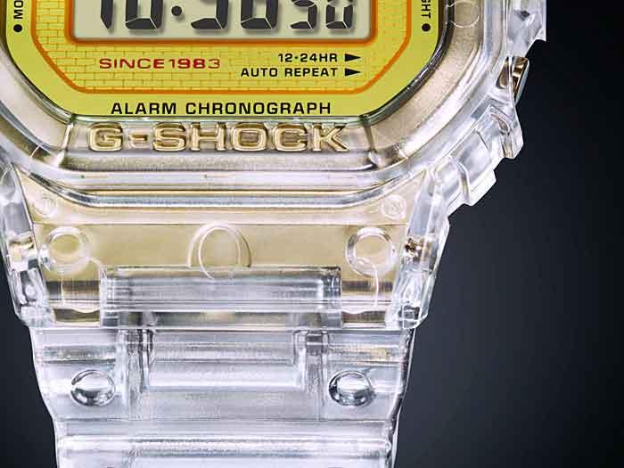 RELÓGIO G-SHOCK DW-5035E-7DR *ED. COMEMORATIVA DE 35 ANOS