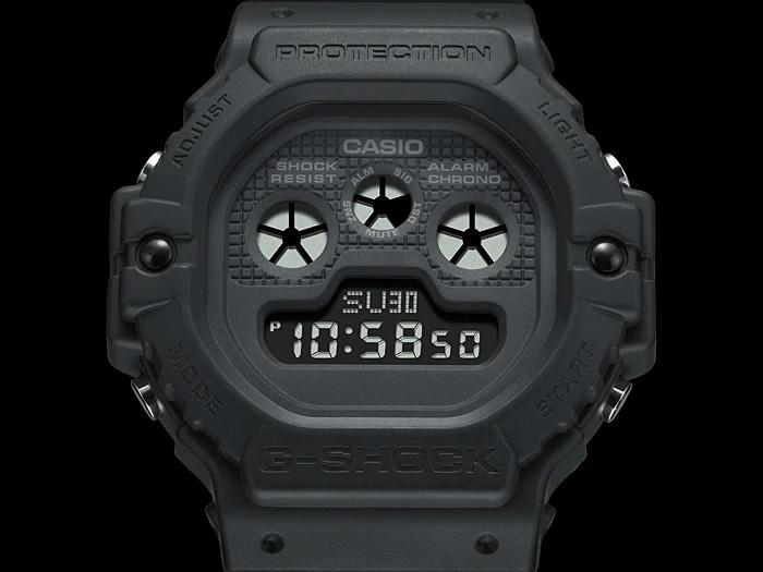 RELÓGIO G-SHOCK DW-5900BB-1 *REVIVAL