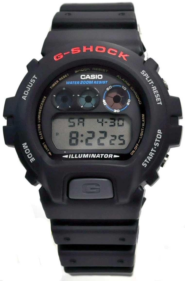 RELÓGIO G-SHOCK DIGITAL DW-6900-1VDR