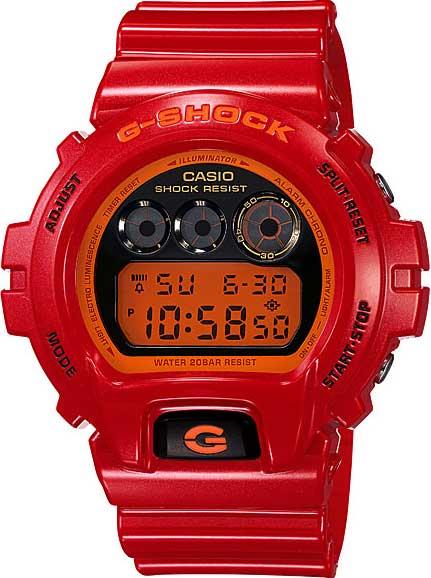 RELÓGIO G-SHOCK DIGITAL DW-6900CB-4DS
