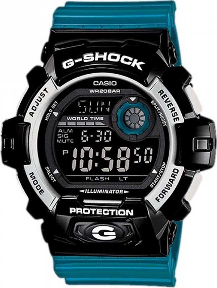 RELÓGIO G-SHOCK DIGITAL G-8900SC-1BDR