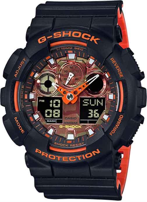 RELÓGIO G-SHOCK GA-100BR-1ADR