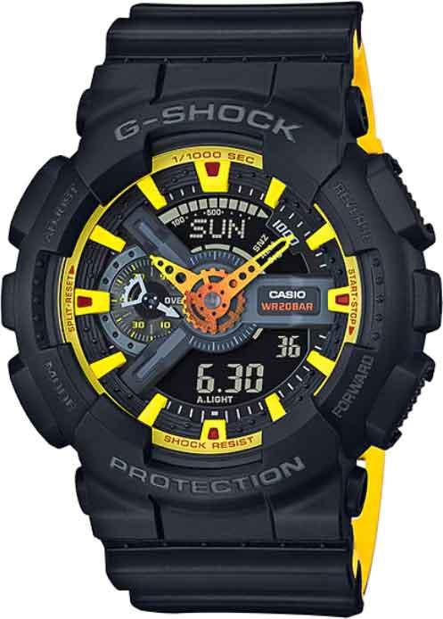 RELÓGIO G-SHOCK GA-110BY-1ADR