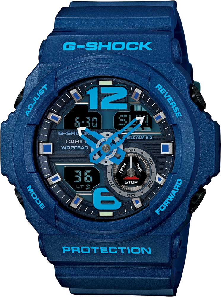 RELÓGIO G-SHOCK ANALOG-DIGITAL GA-310-2ADR