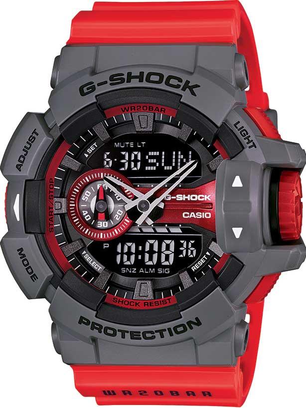 RELÓGIO G-SHOCK ANALOG-DIGITAL GA-400-4BDR