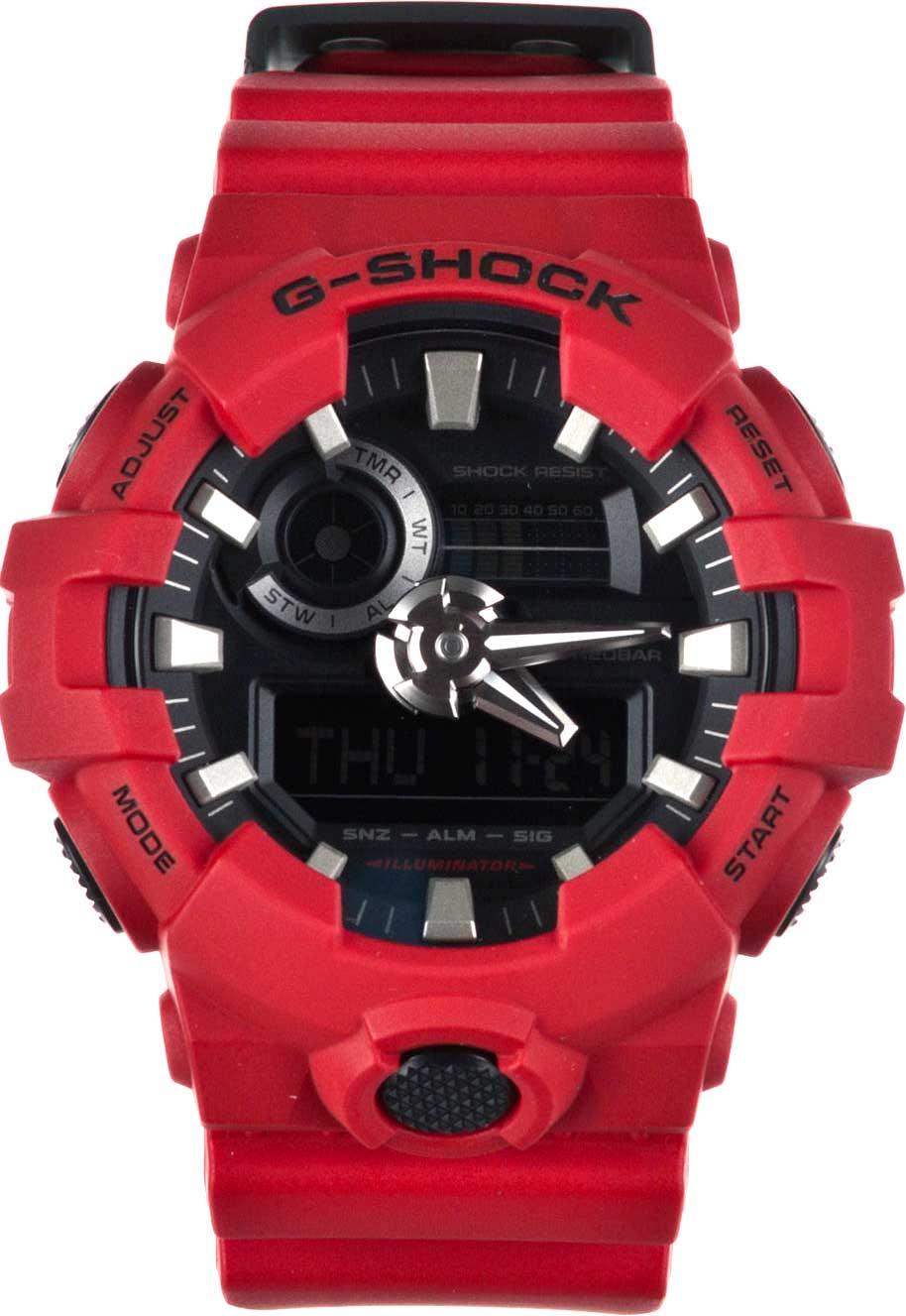 RELÓGIO G-SHOCK ANALOG-DIGITAL GA-700-1BDR