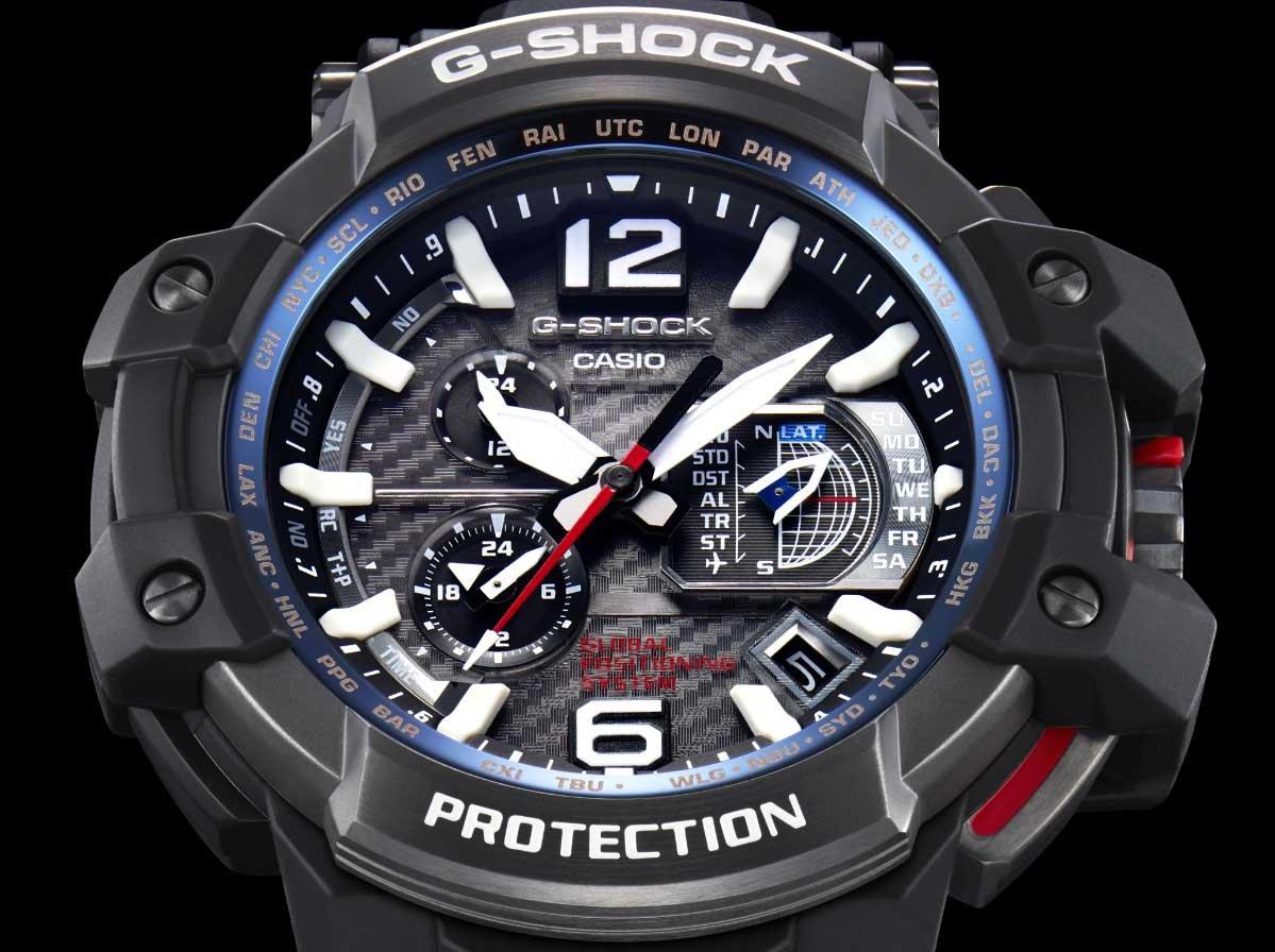 RELÓGIO G-SHOCK GRAVITY MASTER GPS GPW-1000-1ADR