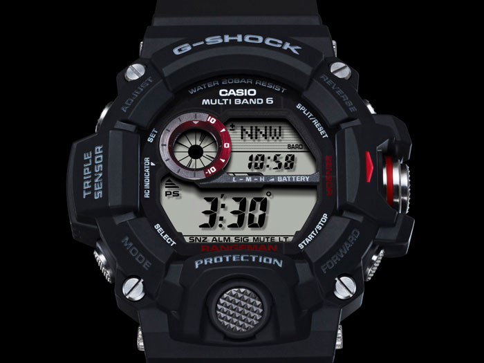 RELÓGIO G-SHOCK Rangeman PROFESSIONAL GW-9400-1DR