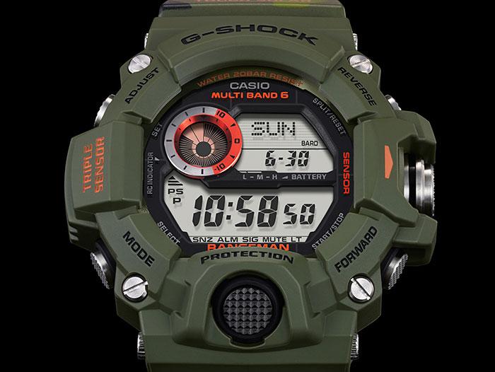 RELÓGIO G-SHOCK Rangeman GW-9400CMJ-3DR
