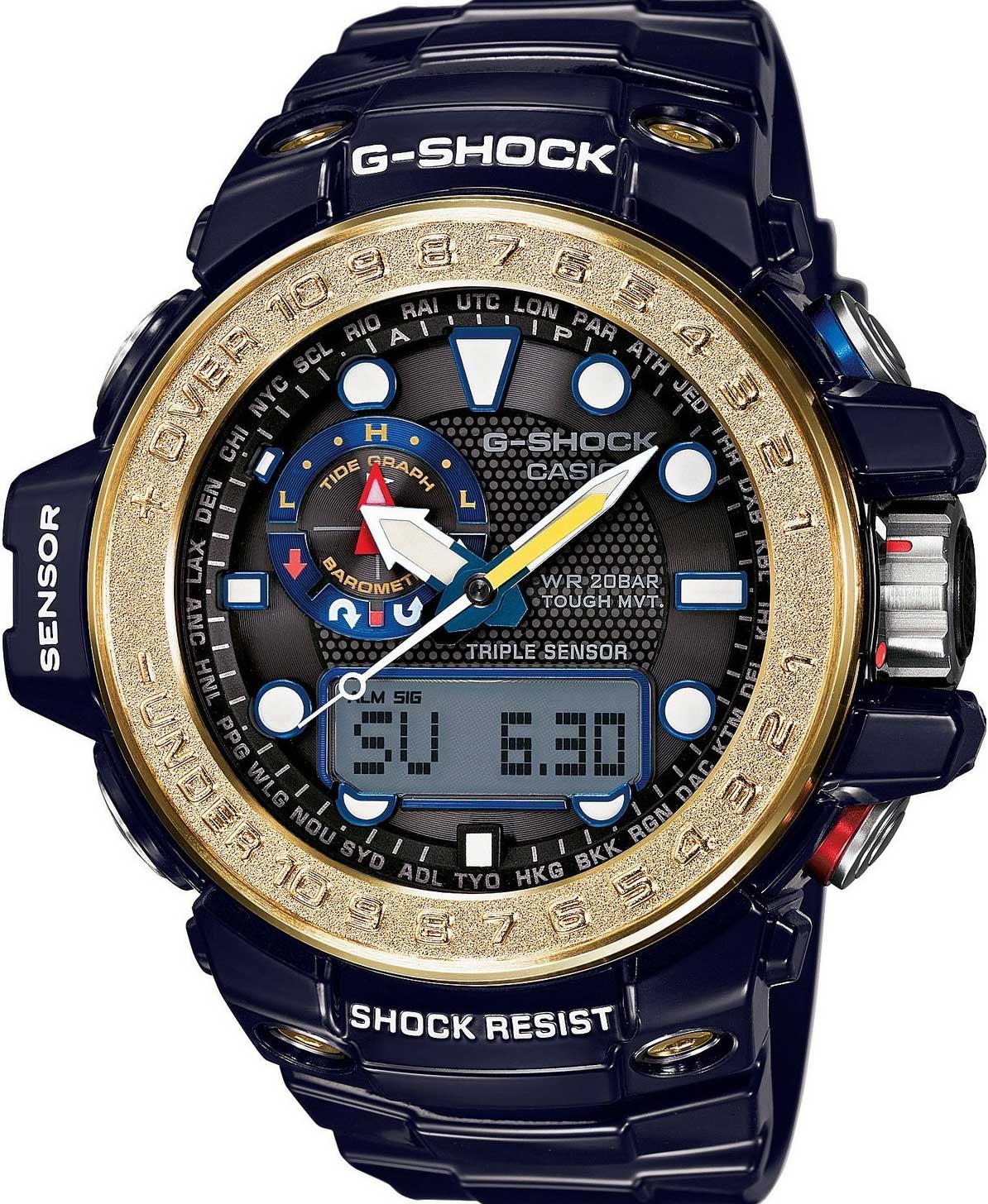 RELÓGIO G-SHOCK GULFMASTER GWN-1000F-2ADR