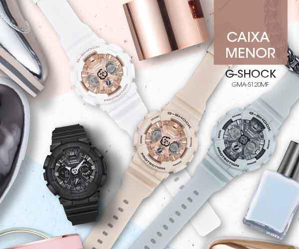 RELÓGIO G-SHOCK Coleção GMA-S120