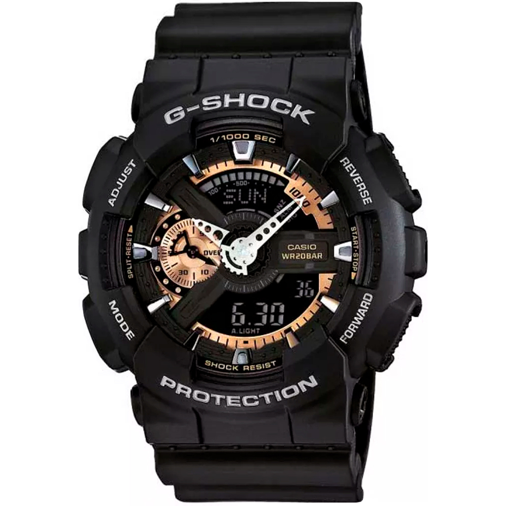 RELÓGIO G-SHOCK ANALOG-DIGITAL GA-110RG-1ADR