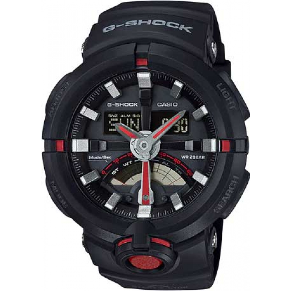 RELÓGIO G-SHOCK ANALOG-DIGITAL GA-500-1A4DR