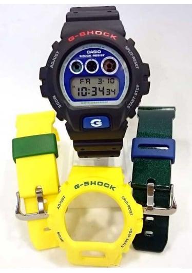 RELÓGIO G-SHOCK DW-6900BR-1DR *02 PULSEIRAS EXTRAS
