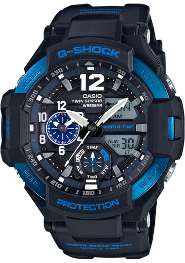 Relógio G-Shock GravityMaster GA-1100-2BDR
