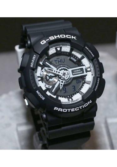 RELÓGIO G-SHOCK ANALOG-DIGITAL GA-110BW-1ADR