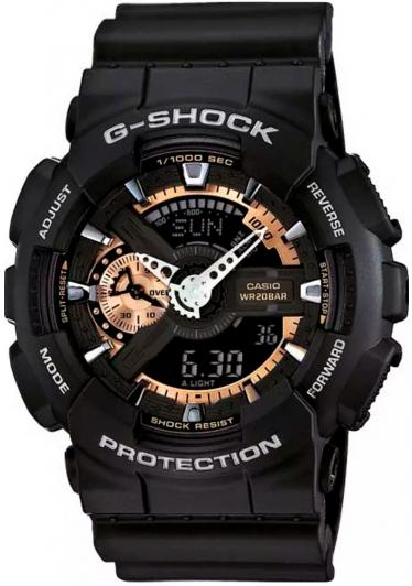 RELÓGIO G-SHOCK ANALOG-DIGITAL GA-110RG-1ADR