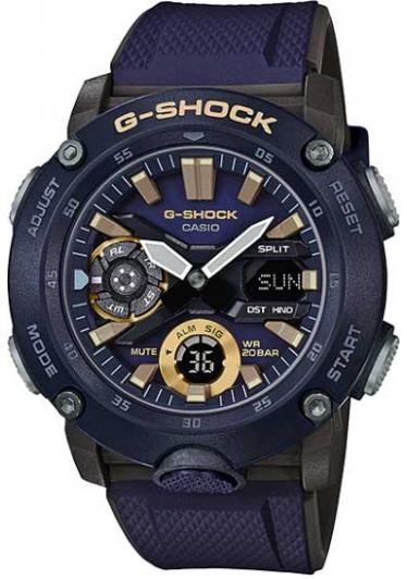 RELÓGIO G-SHOCK GA-2000-2ADR Carbon Core Guard