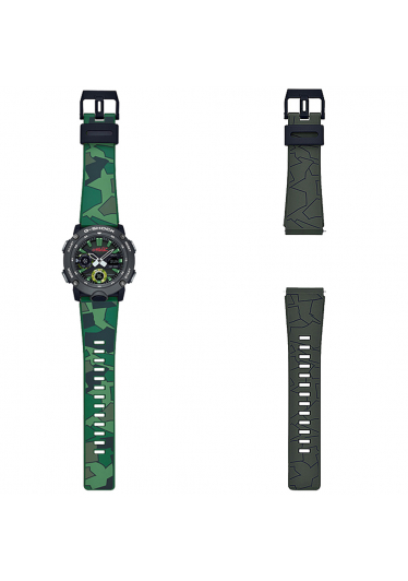 Relógio G-Shock GA-2000GZ-3ADR Collab Gorillaz *Edição Limitada
