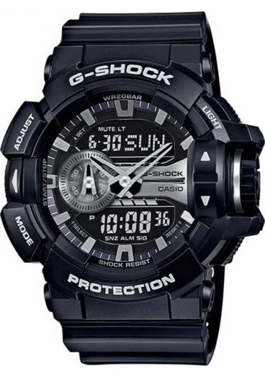 RELÓGIO G-SHOCK ANALOG-DIGITAL GA-400GB-1ADR