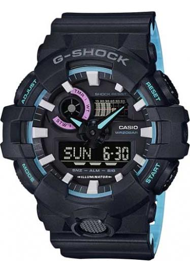 RELÓGIO G-SHOCK GA-700PC-1ADR