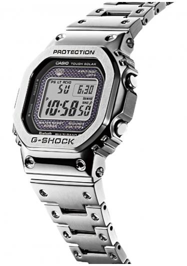 RELÓGIO G-SHOCK GMW-B5000D-1DR *Tough Solar e Bluetooth
