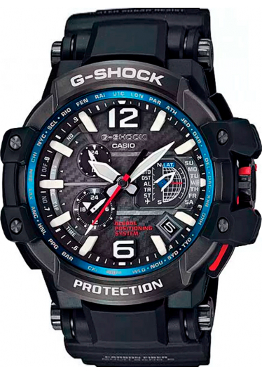 Relógio G-Shock GravityMaster WaveCeptor GPS GPW-1000-1ADR