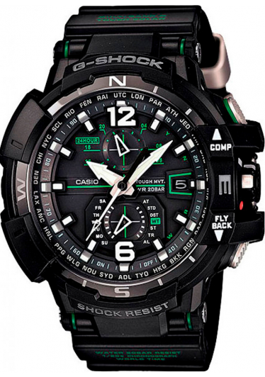 Relógio G-SHOCK GW-A1100-1A3DR Gravity Defier