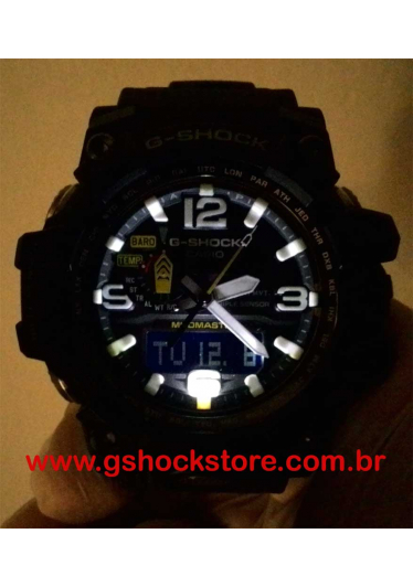 RELÓGIO G-SHOCK MUDMASTER GWG-1000-1ADR