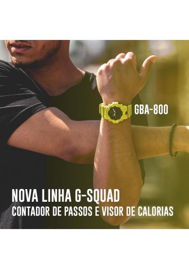 RELÓGIO G-SHOCK GBA-800