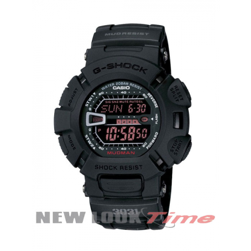 Relógio CASIO G-Shock G-9000MS-1DR Mudman G-Force Military Black