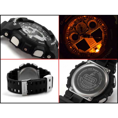 RELÓGIO G-SHOCK ANALOG DIGITAL GA-100BW-1ADR