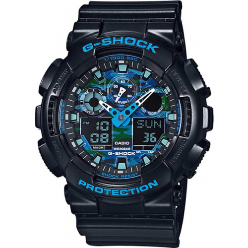 RELÓGIO G-SHOCK ANALOG DIGITAL GA-100CB-1ADR