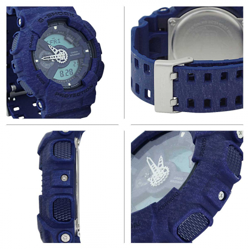 RELÓGIO G-SHOCK ANALOG-DIGITAL GA-110HT-2ADR