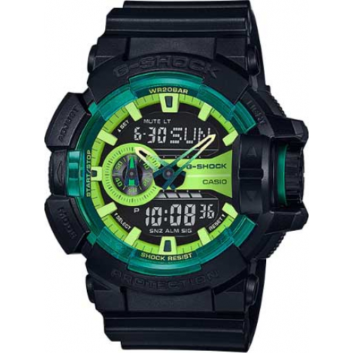 RELÓGIO G-SHOCK ANALOG-DIGITAL GA-400LY-1ADR
