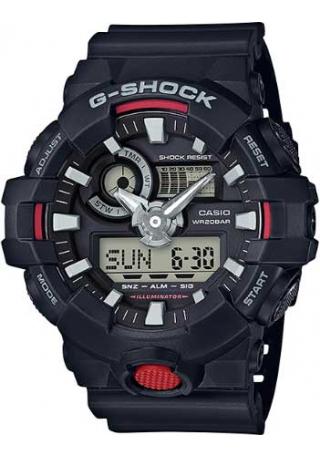 RELÓGIO G-SHOCK ANALOG-DIGITAL GA-700-1ADR