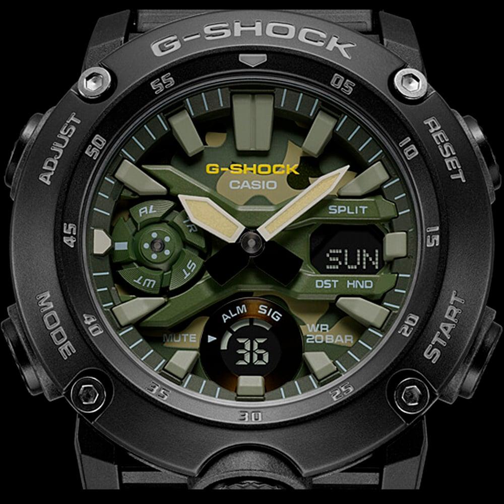Relógio G-Shock GA-2000SU-1ADR Carbon Core Guard