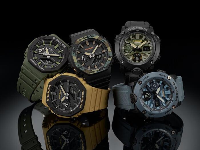 Relógio G-Shock GA-2110SU-9ADR *Carbon Core Guard