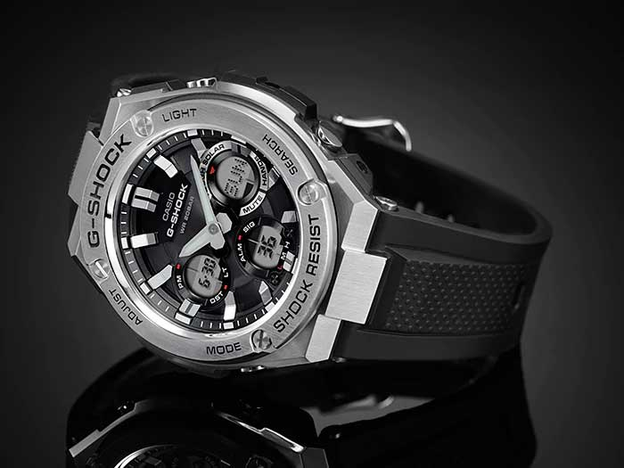 Relógio G-Shock G-Steel GST-S110-1ADR *Solar