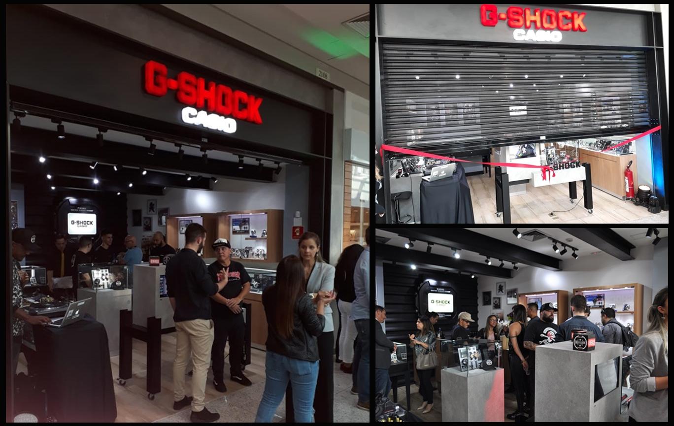 Loja G-SHOCK STORE Mooca Plaza Shopping