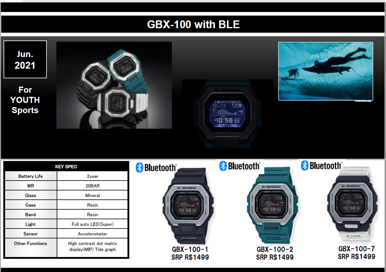 G-SHOCK G-LIDE GBX-100